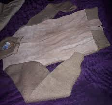 Split Cowhide Vintage Repage Mens Split Cowhide Leather Sweater Ad 865088
