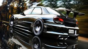 tuned cars tuned cars subaru super impreza 171781