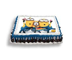 minions cake three minions photo cake 2 kg all cakes