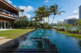 design house in miami studio mk27 sets 20 million miami beach house around private
