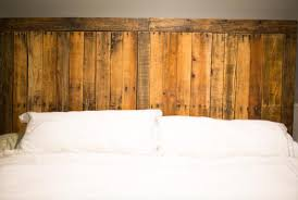 Headboards Made With Pallets Diy Pallet Headboard Built In Country Style Pallet Furniture Plans