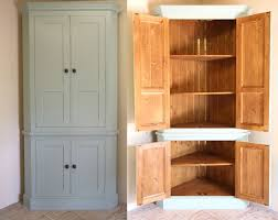 Free Standing Kitchen Cabinet Storage Freestanding Corner Pantry For Storage In The Hallway For