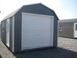 gambrel garage 12x20 gambrel garage 64558 woodtex