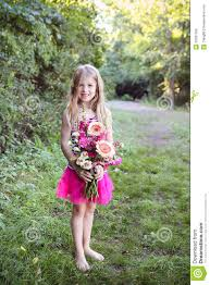 cute holding a bunch royalty free stock photos