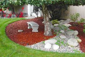 Decorative Rocks For Garden Decorative Rock Landscaping Ideas