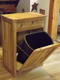 Kitchen Cupboard Garbage Bins by 58 Best Trash Can Images On Pinterest Trash Can Cabinet Trash