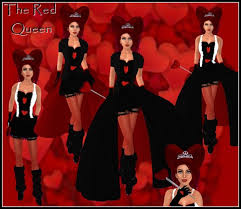 Boots Halloween Costume Marketplace Red Queen Hearts Costume