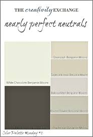 nearly perfect neutrals color palette monday 2 neutral