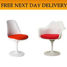 Retro Swivel Armchair Tulip Chair Armchair Eero Saarinen Retro Plastic Office Dining