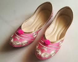 Wedding Shoes Size 9 Indian Bridal Shoes Etsy