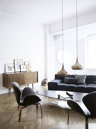 ambiance canape déco salon meuble vintage ambiance minimaliste