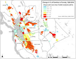 San Francisco County Map by Mapping The Suburbanization Of Poverty
