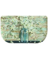 bacova accent rugs bacova blossoms in jar accent rug collection bath rugs bath mats