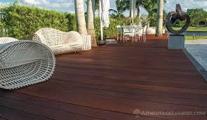 wood decking materials advantage hardwood decking benefits