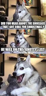 Christmas Dog Meme - christmas dog puns