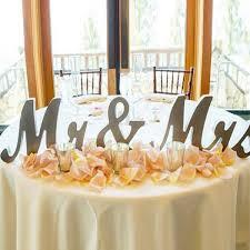 aliexpress com buy 3pcs silver wooden letters mr u0026 mrs table
