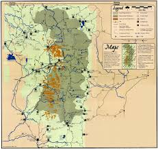 Colorado Trail Maps by Trail Information Graphical Mount Zirkel Wilderness Area Colorado