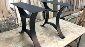 metal end table legs diy dining table legs choice image table decoration ideas