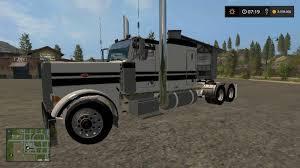 peterbilt 379 flattop custom v1 0 farming simulator 2017 mods