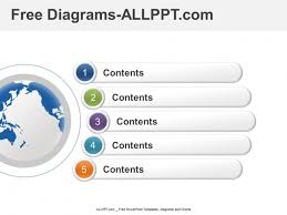 Powerpoint Diagram Templates Free 5 Step Stage Diagram And Free Ppt Ppt Free