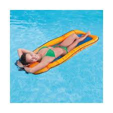 intex 58836 mesh lounge inflatable water hammock
