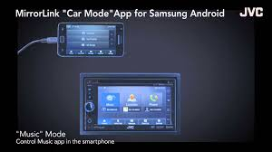 mirror link android jvc kw nsx1 feat samsung drive link app mirror link technology