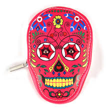 pink sugar skull manicure set day of the dead mexicana pink