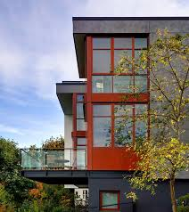 urban home design sustainable urban home offers sweeping views over seattle skyline