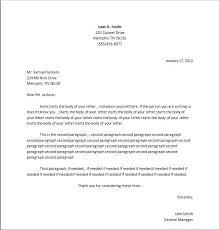 25 unique business letter format example ideas on pinterest