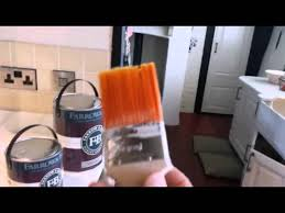how to paint cabinets with farrow and how to paint kitchen units using farrow and