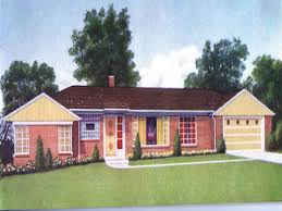 1950s brick ranch style homes 1950 ranch style home colors retro