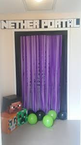 interior design video game themed birthday party decorations