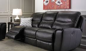 Electric Reclining Leather Sofa Era Nouveau 91 Inch Top Grain Power Reclining Sofa Haynes