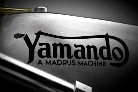 vintage honda logo the yamando a vintage yamaha racer with a norton frame bike exif
