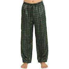 s satin pajama pj bottoms rossa
