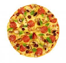 fond blanc en cuisine pizza sur fond blanc isolé télécharger des photos gratuitement