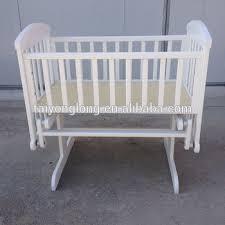 white baby swing cradle wooden baby rocking crib baby cradle buy