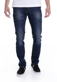 reell spider dark blue used jeans impericon com uk