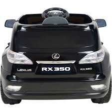 lexus 3 year service plan kalee lexus rx350 12 volt battery powered ride on black walmart com