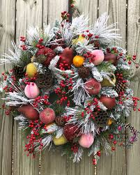 Fruit Decoration For Christmas by How To Make Faux Sugared Fruit Southern Charm Wreaths