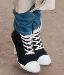 Converse High Heels The 25 Best High Heel Sneakers Ideas On Pinterest Converse