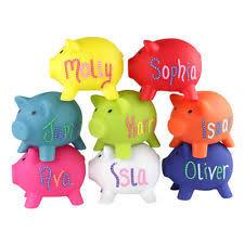 personalised piggy bank personalised piggy bank ebay