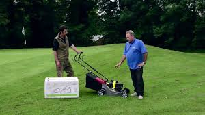 mountfield self propelled rotary petrol lawn mower review youtube