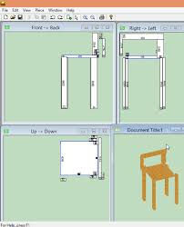 Woodworking Design Software Freeware by Free Furniture Design Software For Windows