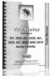 towmotor 391 392s 421 22s 461 462s 501 502p 502s 600p