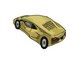 cartoon lamborghini 4 ways to draw a lamborghini wikihow