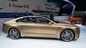 volkswagen sedan 2015 volkswagen c coupe gte previews new sub phaeton sedan at shanghai