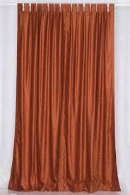 home curtains solid rust colored shower curtain home curtains