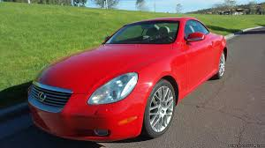 lexus sc430 red interior for sale lexus convertible in arizona for sale used cars on buysellsearch