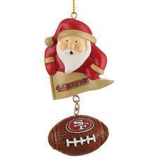 san francisco 49ers nfl ornaments ebay